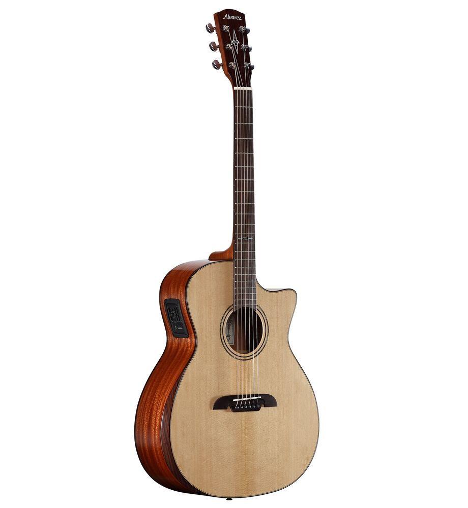 Alvarez AG60CEAR Akustikgitarre in Grand Auditorium-Form mit Armstütze