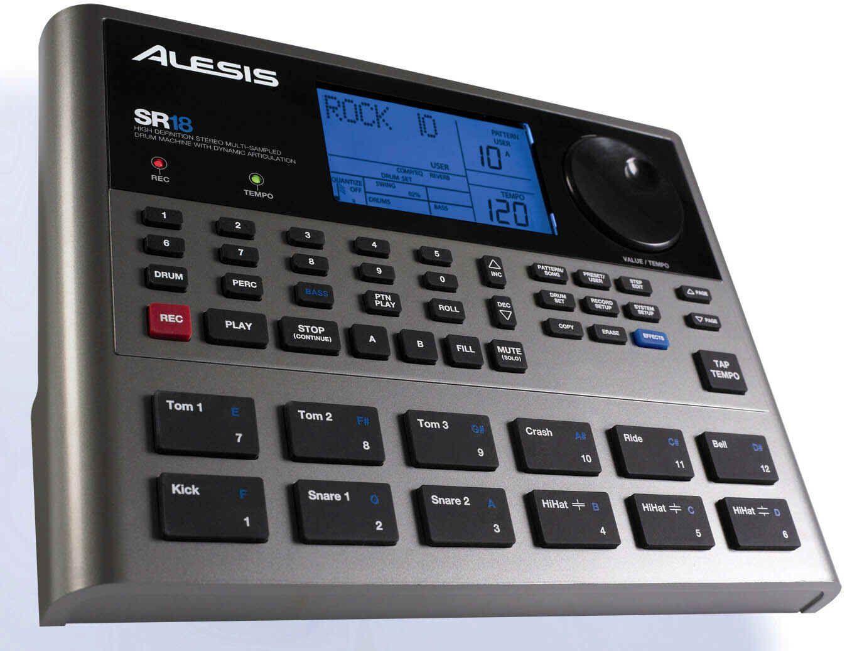 Alesis SR-18 Drumcomputer E-Drum-Computer, 32 MB Wave ROM,SR18