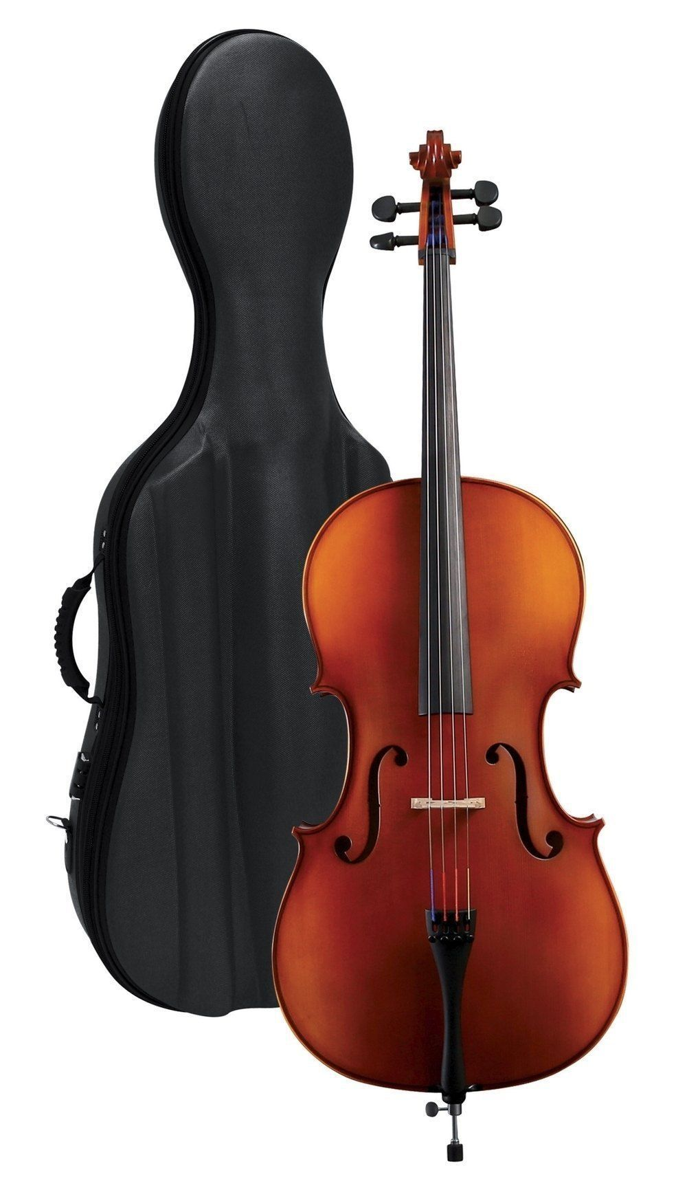 GEWA Pure  4/4  Cello Set EW Ebenholz incl. Bogen und Gigbag