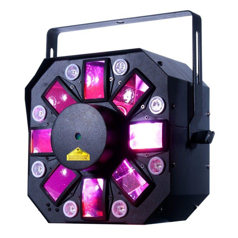 American DJ ADJ Stinger ll LED-Lichteffekt  Moonflower, UV und Laser Effekt