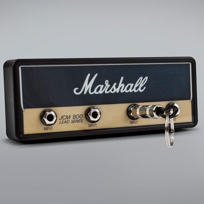 Marshall Jack Rack JCM800  Lead Series Schlüsselbrett mit 4 Schlüsselanhängern