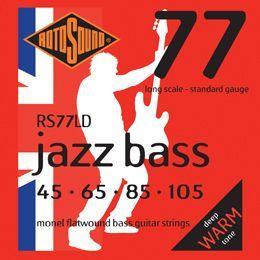 Rotosound RS77LD Flatwound E-Bass Saiten 045-105