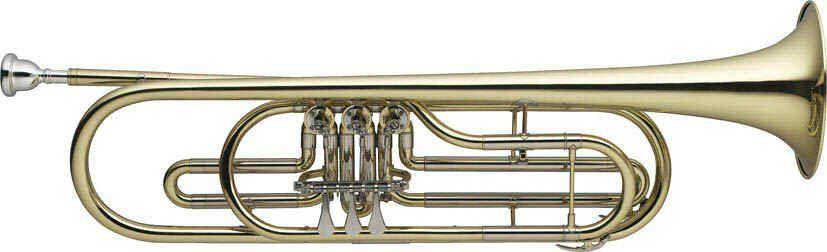 SWING TPB-201 B-Basstrompete , Bohrung 11,66mm, incl.Etui u. Zubehör