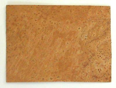 Korkplatte 2,5mm dick, 7x10 cm für Holzblasinstrumente