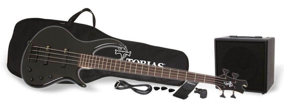 Epiphone Toby Bass Performance Pack  Einsteigerkomplettpaket für Bassisten