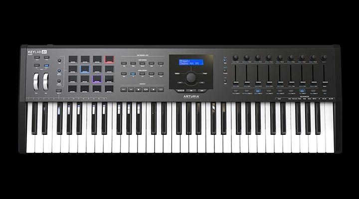 Arturia KeyLab MK II 61 black Masterkeyboard Musikproduktion