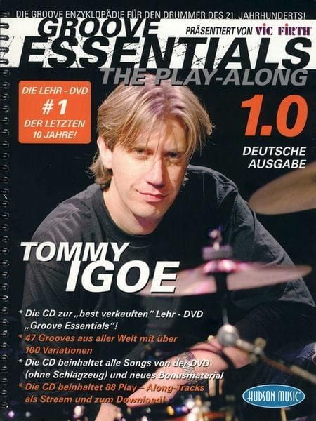Noten Groove essentials 1.0 - the play along Tommy Igoe incl. CD MSHMP 0583