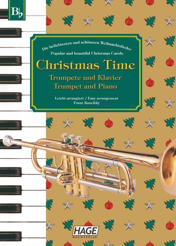Noten Christmas Time Trompete und Klavier Hage eh 1097