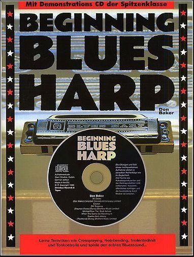 Noten Beginning Blues Harp in Deutsch Bosworth BoE 7318 Mundi