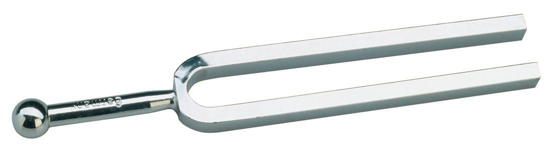 K&M 168/2 Stimmgabel 16820, 440 Hz A, aus Stahl-Recheckprofil, groß, langer Ton