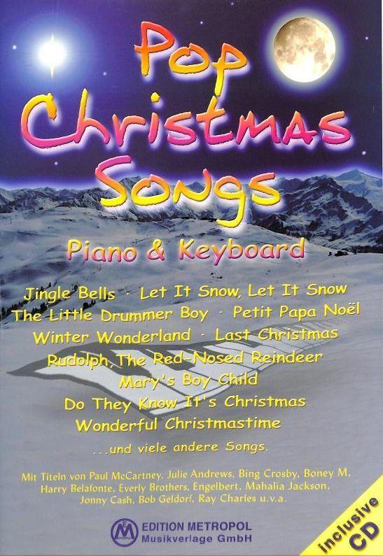 Noten POP CHRISTMAS SONGS EMB 911 Jürgen Moser incl. CD