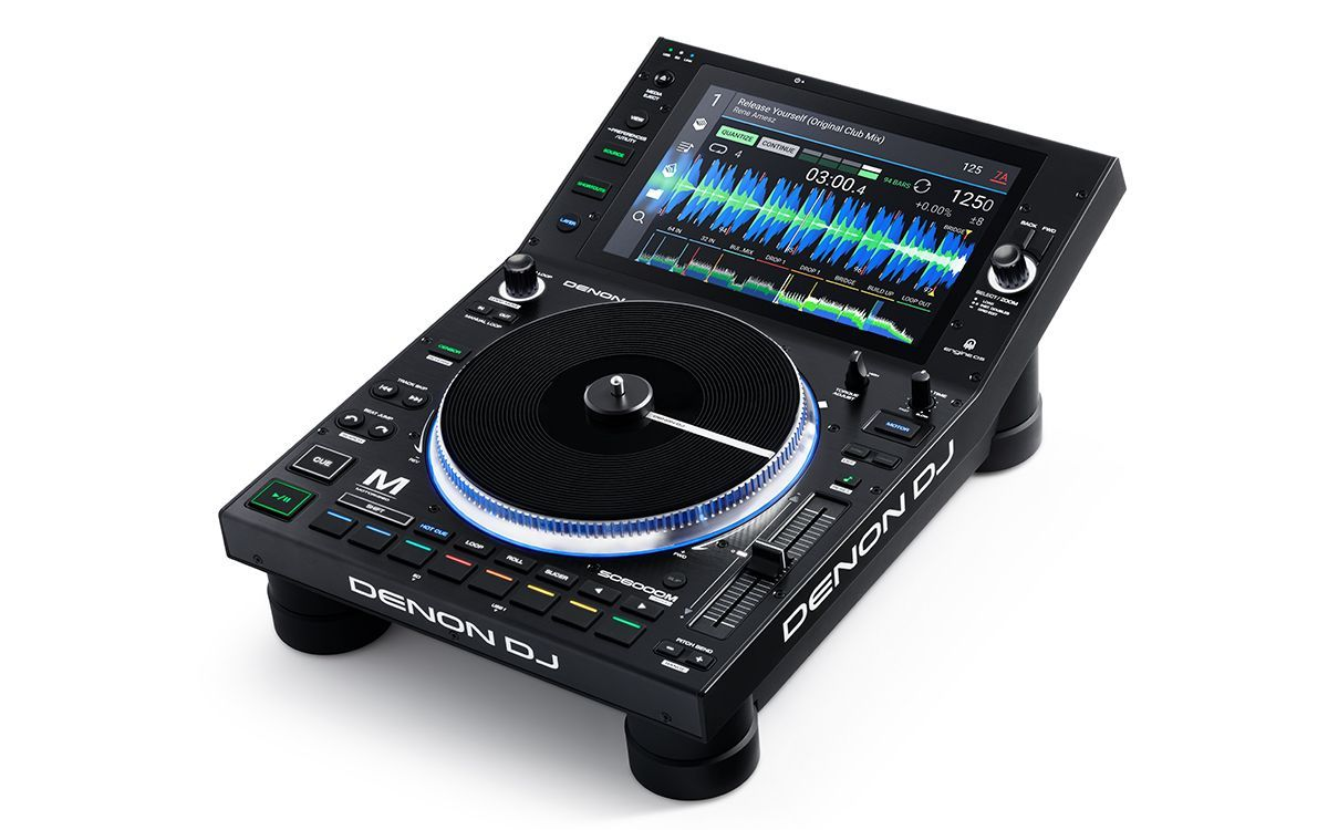 """Denon DJ SC6000M Prime Professioneller DJ Media Player mit 10.1"""" HD Touchscreen"""