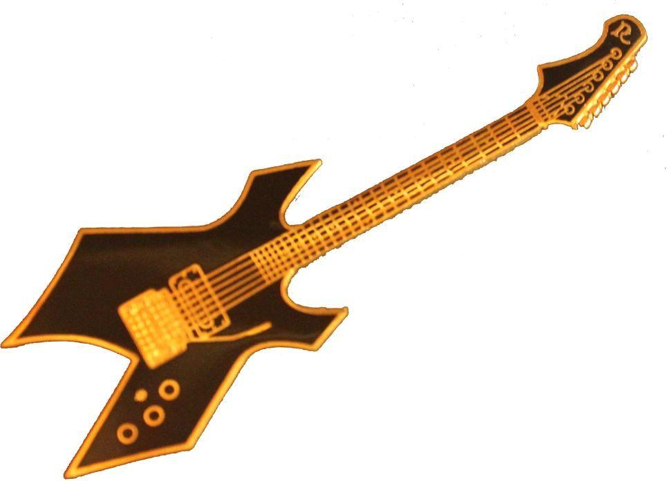 FP-Schmuck E-Gitarre BC-Rich Warlock #555 Musikergeschenke Musikerschmuck