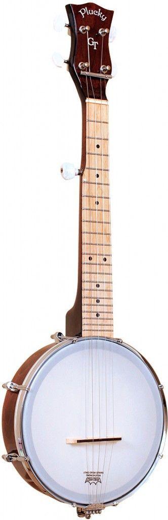 GoldTone Plucky 5-Saiter Reise-Banjo mit Tasche