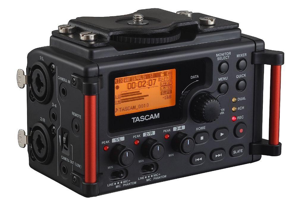 Tascam DR-60D MKll tragbarer Digitalrecorder, Linear-PCM-Stereorecorder