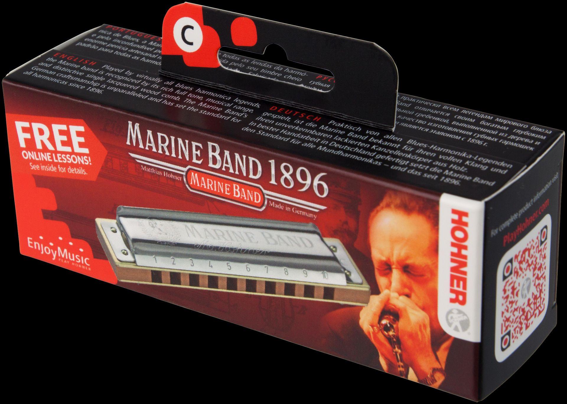 Hohner Marine Band Classic C Mundharmonika HOM1896017