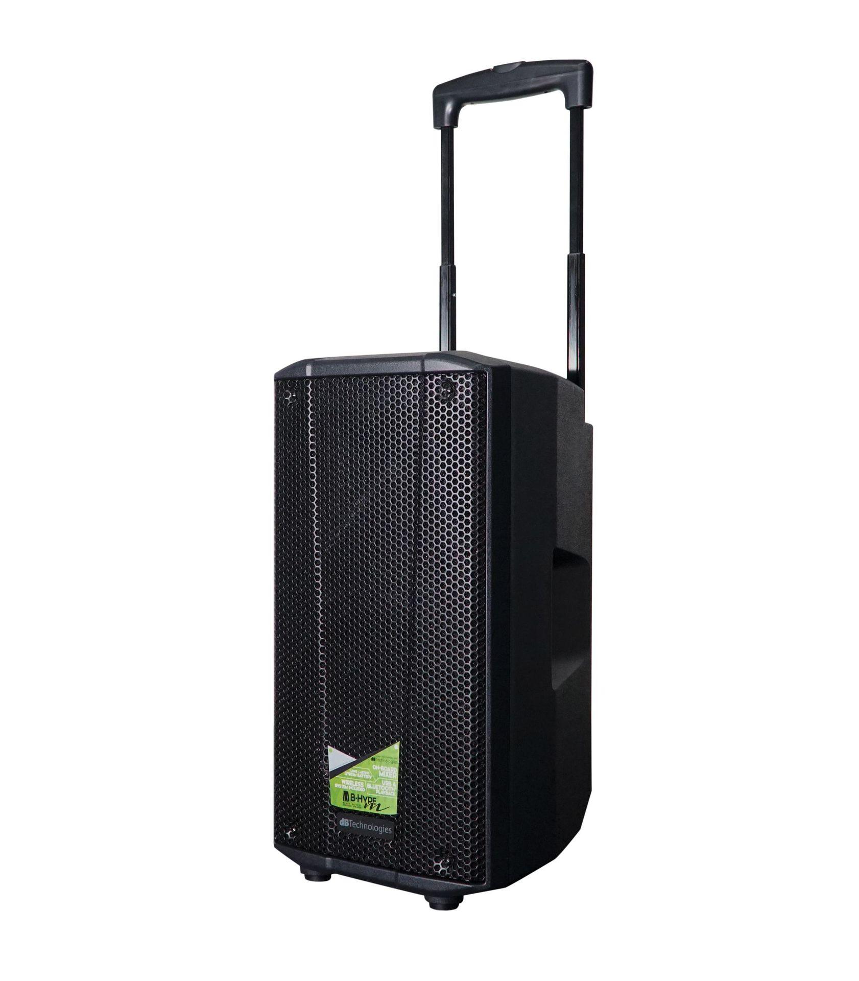 dB Technologies B-Hype Mobile HT Akkubetriebene Bluetooth-Lautsprecherbox
