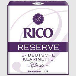 Daddario WoodWinds Rico Reserve 2,5 B-Klarinette deutsch  Blatt N