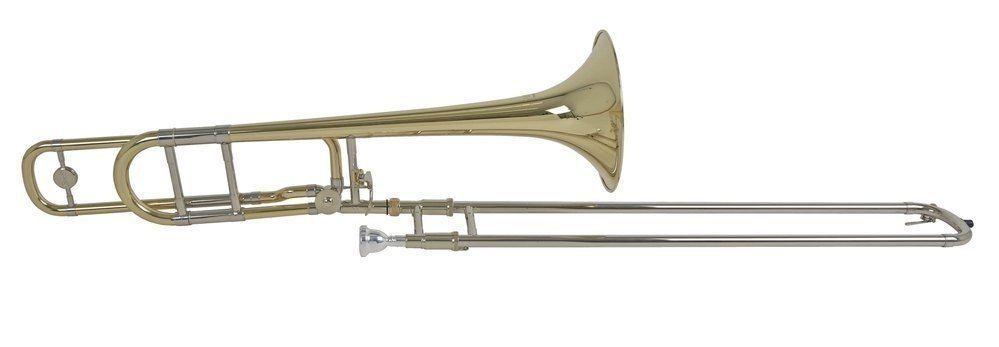 Bach TB-450B B/F--Tenor-Posaune, Bohrung 13,90mm, Quartventil, Gigbag+Zub.TB450B