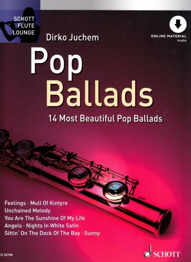 Noten Pop Ballads 16 Most beautiful ED 20796 für Querflöte incl. downloadcode