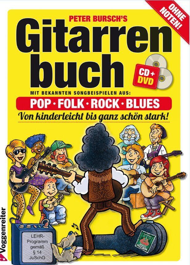 Schule Gitarrenbuch 1 Peter Burschs Peter Bursch 0208 Voggenreiter NEUE AUSGABE