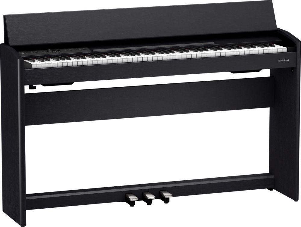 Roland F-701CB Digitalpiano schwarz matt, F-140 Nachfolgemodell