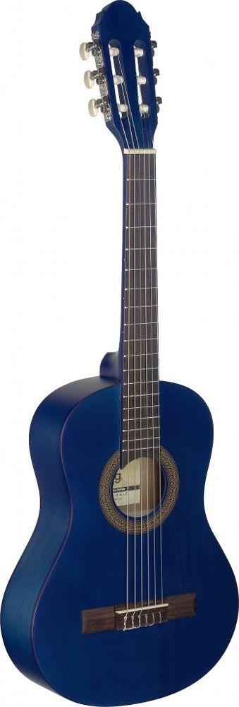 Stagg C-410 M Blue Konzertgitarre, 1/2-Größen blau  matt