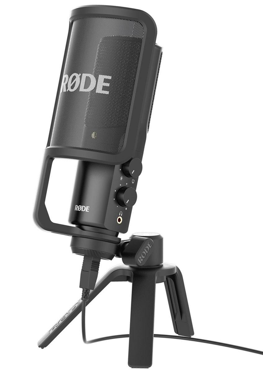 RODE NT-USB  USB-Kondensatormikrofon für Podcast, Vocals, Akustische Instrumente