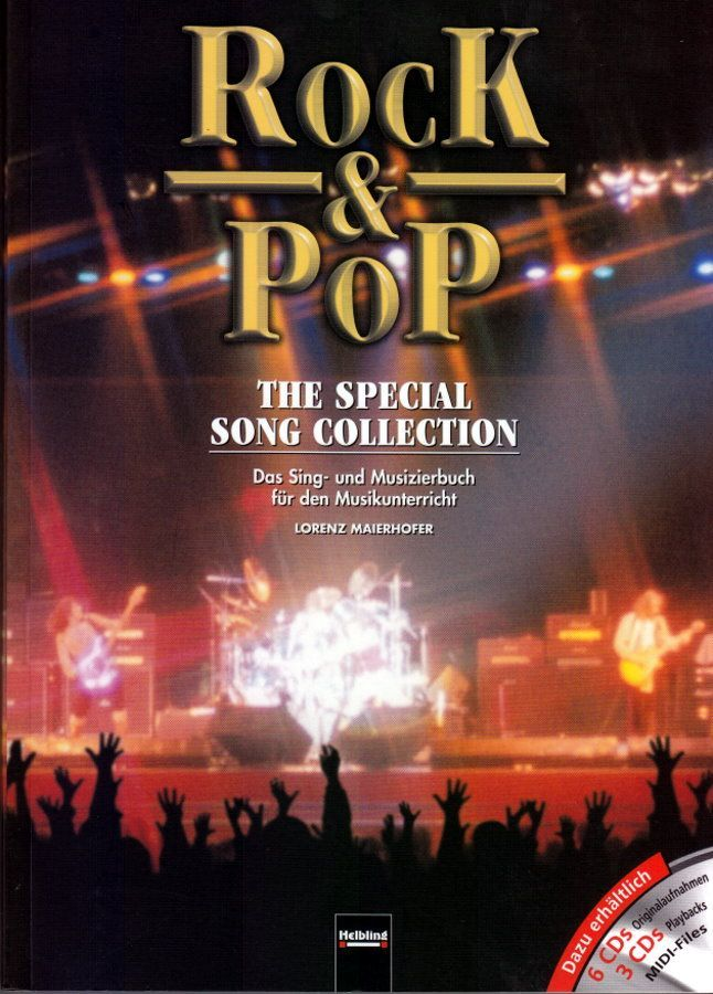 Noten ROCK & POP - THE SPECIAL SONG COLLECTION 88 bekannte Songs Helbling S4970