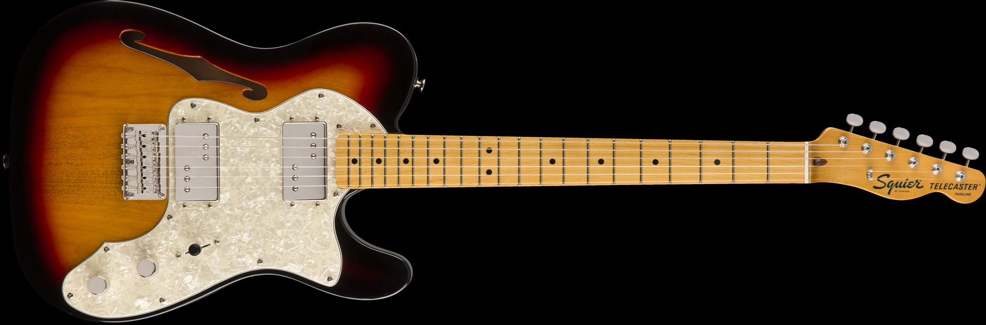 Squier Classic Vibe '70 Thinline Telecaster MN 3 TS