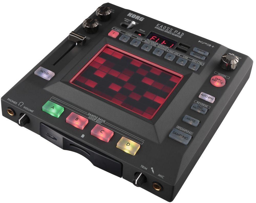 Korg Kaoss Pad 3+ DJ Digital Effektgerät mit X/Y Touchpad Steuerung NEU