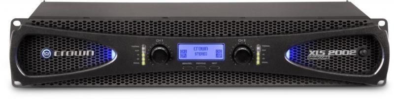 Crown XLS 2002 Endstufe Digitaler PA-Verstärker mit 2x 650 Watt an 4 Ohm