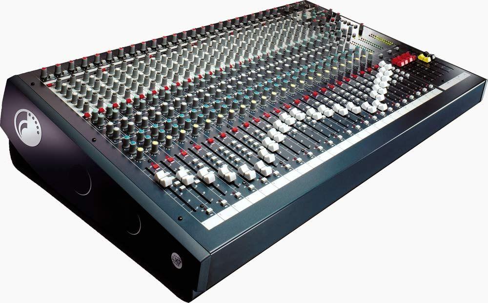 Soundcraft LX7 II 24 Mixer, Mischpult, 24 Mikrofoneingänge, 2 Stereoinputs, EQ