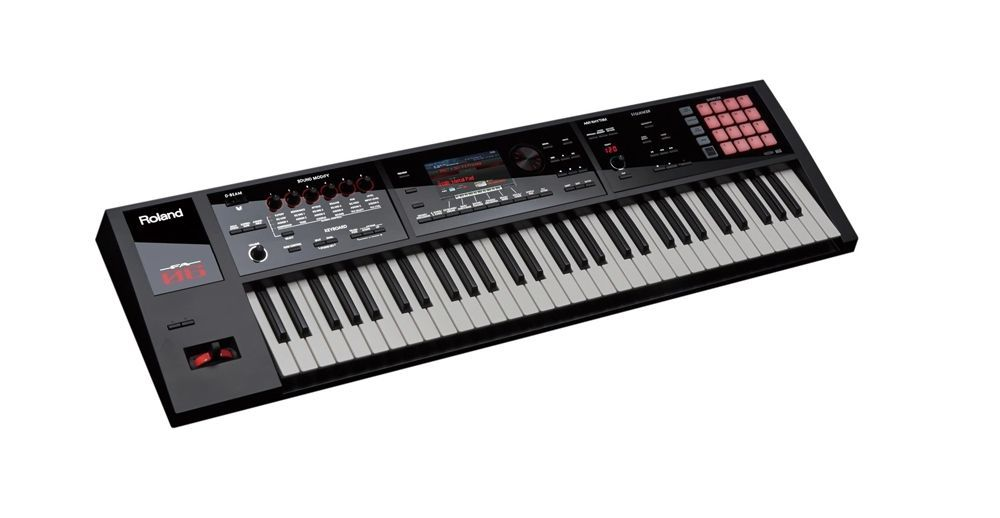 Roland FA-06 Music-Workstation mit 61 Tasten , großes Farb-LC-Display, Sampling
