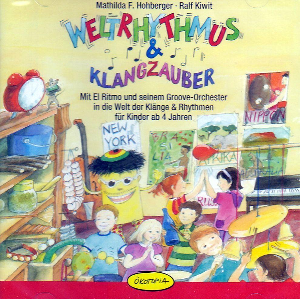 CD Weltrhythmus & Klangzauber vom ökotopia Verlag Mathilda F. Hohberger