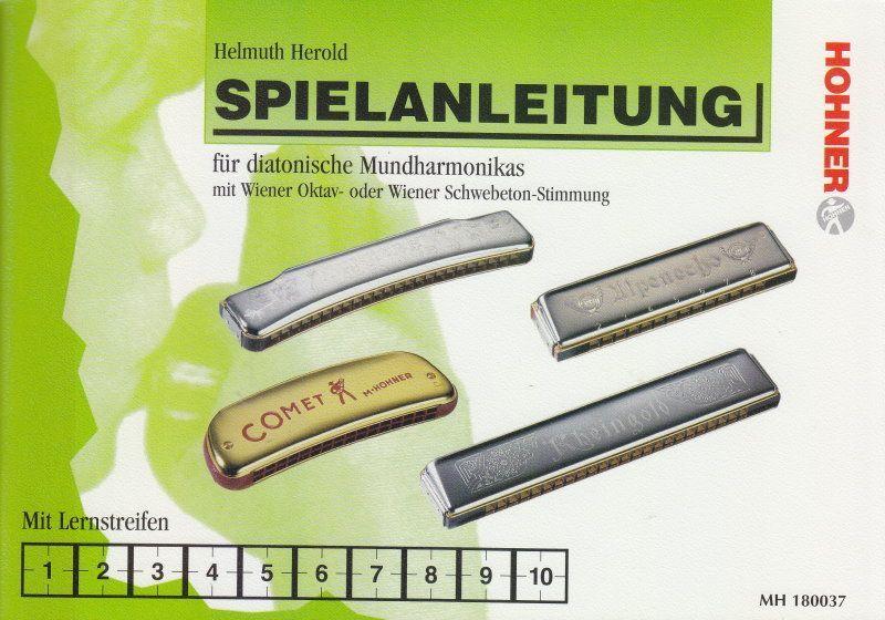 Schule Spielanleitung für diatonische Mundharmonikas Helmut Herold Hohner 180037