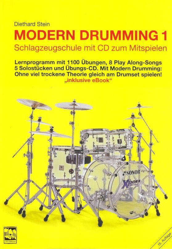 Schule Modern Drumming 1 Diethard Stein incl. CD Leu Verlag