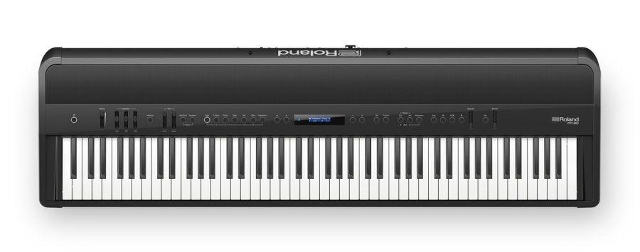 Roland FP-90-BK Stagepiano schwarz Digitalpiano mit Lautsprechern, FP90-BK