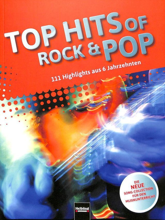 Noten Top Hits of Rock & Pop Helbling HELBL -S7785 Maierhofer Detterbeck