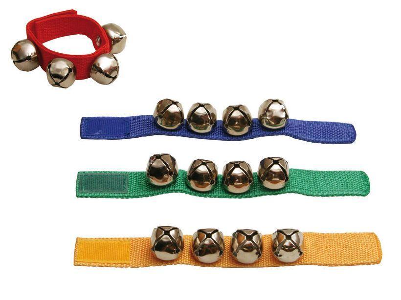 Goldon 33400 Armschellen Fußschellen 4 Glöckchenband