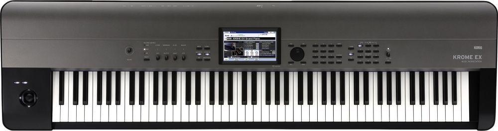 Korg KROME EX 88 Music Workstation,Touch View Farbdisplay, KRONOS-Samples u.v.m.