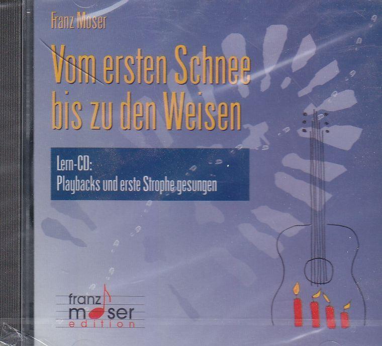 CD Vom ersten Schnee bis zu den Weisen Franz moser Playback CD