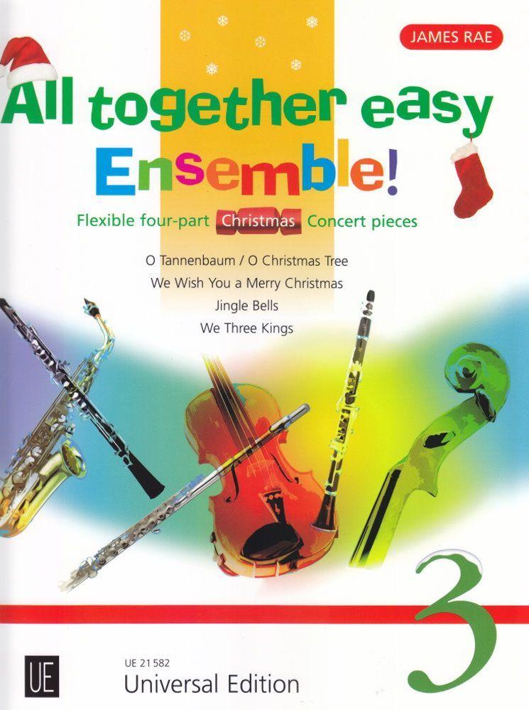 Noten All together easy Ensemble 3 für variable Besetzung James Rae UE 21582