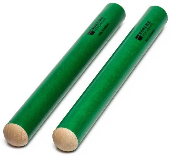 Rohema 61555/G Claves Klanghölzer grün Buche