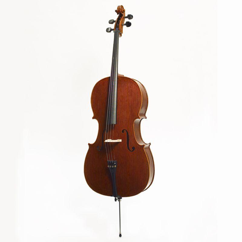 """Stentor Cello 4/4 """"Messina SR-1590A  Ebenholzgriffbrett, Ebenholzwirbel"""