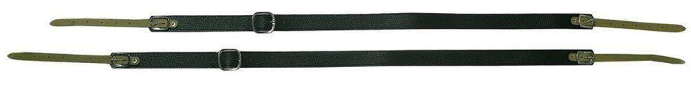Trageriemen 72-96 Baß-Akkordeon, Leder gepolstert, 27 mm breit