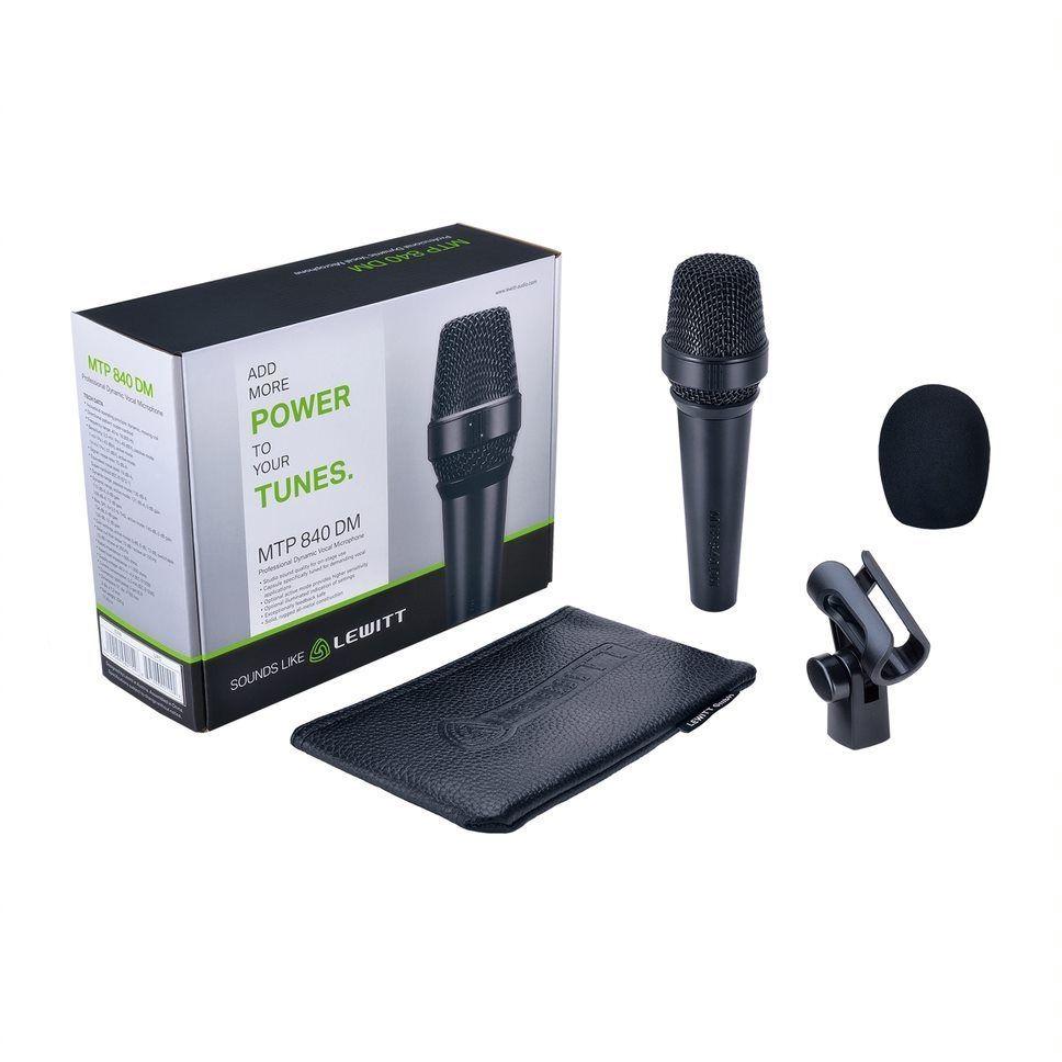 Lewitt MTP 840 DM Dynamisches Gesangsmikrofon, Superniere