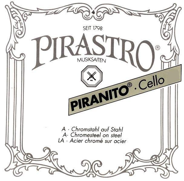 Pirastro Cello 4/4 Piranito 635000 Satz Chromstahl Saiten