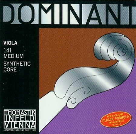 Thomastik Viola Dominant Saiten Satz 4/4 141 mittel (136,137,138,139)