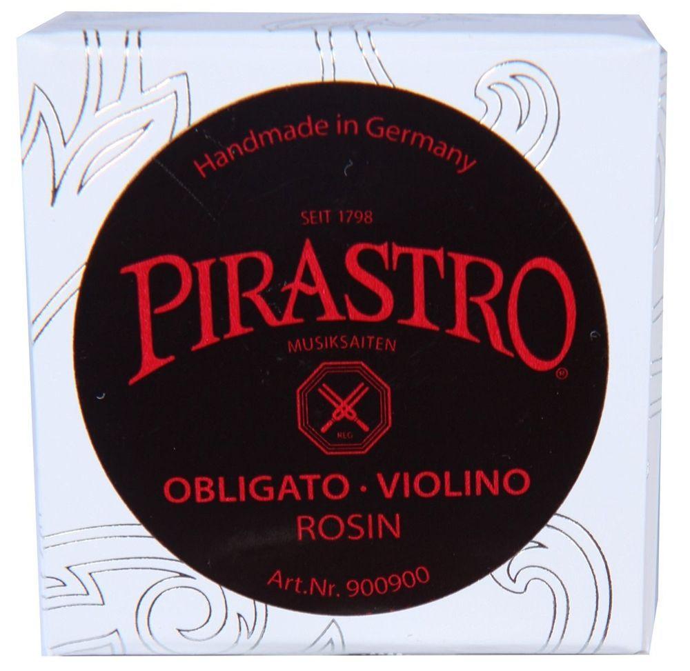 Pirastro Kolofon Obligato / Violino für Violine Kolophonium 9009 Kunststoffsaite